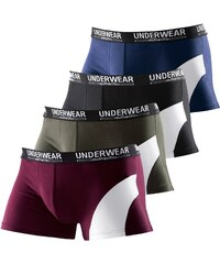 LE JOGGER Packung Boxer Authentic Underwear 4 Stck.