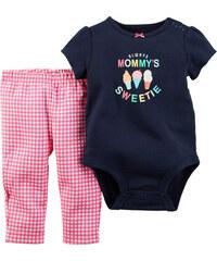 Carter's Dívčí kojenecký set Mommy sweetie - barevný