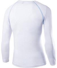 Peak-X Langärmliges Sport-Shirt - Weiß - XXL
