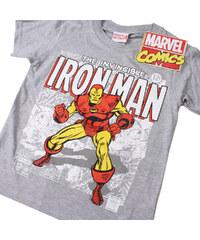 Lesara Marvel Kinder-T-Shirt Iron Man - Grau - 122