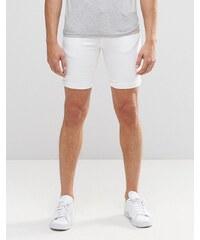 Minimum - Short en jean - Blanc