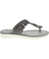 Marco Tozzi dámské pantofle 2-27101-26 stříbrné