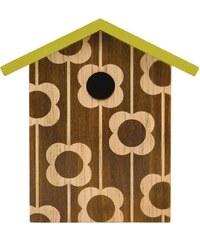 W & W Bird House - Engraced Flower OK041