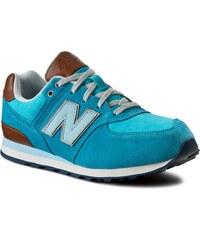 Sneakers NEW BALANCE - KL574U9G Blau