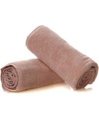 Azur Serviette de douche 550 g/m² - rose