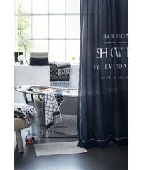 H&M Sprchový závěs s potiskem