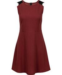 BODYFLIRT Kleid mit Spitze in rot von bonprix
