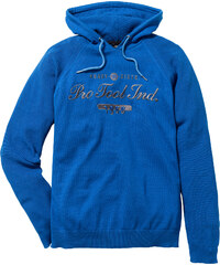 bpc bonprix collection Pullover m. Kapuze Regular Fit langarm in blau für Herren von bonprix