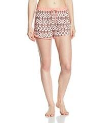 Palmers Damen Schlafanzughose Kurze Schlafanzugshose Marbella Night, Gr. Medium, Mehrfarbig (BUNT 199)
