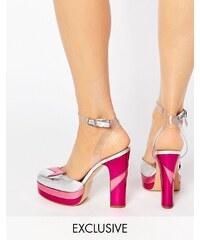 Terry de Havilland - Direction - Schuhe mit hohem rosa Absatz - Rosa