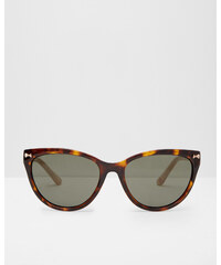 Ted Baker Katzenaugen-Sonnenbrille Schildpatt