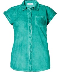 Sheego Casual Bluse im Oil Washed Look