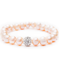 Sladkovodní perla Perlový náramek BEST pink