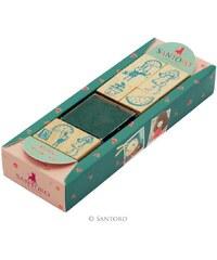 Santoro London - Razítkový set - Kori Kumi - Melon Showers