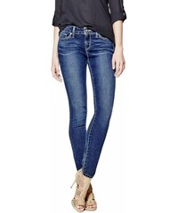 GUESS GUESS Sienna Curvy Skinny Jeans in New Dark Wash - natural dark wash