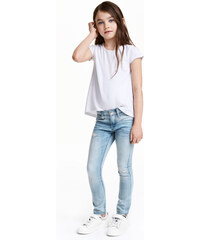 H&M Skinny Fit Worn Jeans