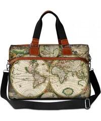 Huado cestovní taška 36L - Stará mapa