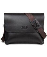 POLO VIDENG Elegant XL pánská kožená taška