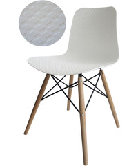StarDeco Bílá židle