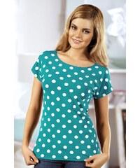 Babell Dámské tričko Latoya tyrkysová M