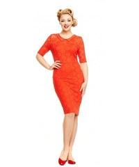 Šaty Lindy Bop Valentine Red