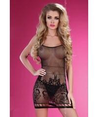 Erotické šaty Livco Corsetti Berdine, černá