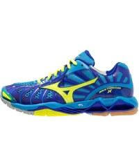 Mizuno WAVE TORNADO X Volleyballschuh diva blue/neon yellow/surf the web