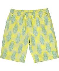 Plážové kraťasy Ocean Pacific Skull dět. žlutá