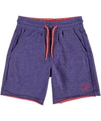 Teplákové kraťasy Ocean Pacific 2 Tone Fleece dět. námořnická modrá/červená