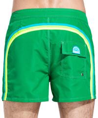 SUNDEK fixed waistband mid-length board shorts