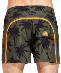 SUNDEK fixed waistband mid-length board shorts