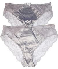 Intimidao Jane krajkové kalhotky - 2ks L světle fialová