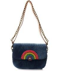 Manoush Jean Rainbow - Handtasche - ausgewaschenes blau