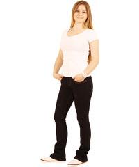 Lesara Klassische Bootcut-Jeans - Schwarz - 36