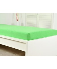 BES Petrovice Froté elastické prostěradlo atypický rozměr 160 x 200 cm - 005š jarní zeleň