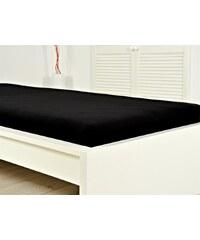 BES Petrovice Jersey elastické prostěradlo ATYP 200x220 s gumou černé