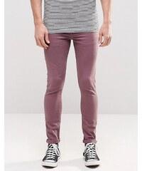 ASOS - Jean super skinny - Violet - Violet