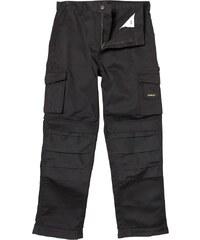 Stanley Workwear Herren Phoenix Heavy Duty Workwear Hose Schwarz
