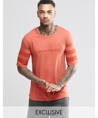 Underated - T-shirt avec logo - Fauve