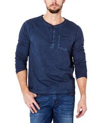 Pánské tmavě modré tričko VOLCANO