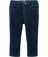 bpc bonprix collection Pantalon velours côtelé skinny, T. 80-134 bleu enfant - bonprix