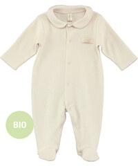 Naturapura Pyjama mit Peter-Pan-Kragen aus Bio-Baumwolle