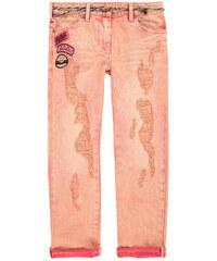 """Scotch & Soda Denim-Jeans """"slim fit"""" in pink washed mit schmalem geflochtenem Gurtel"""