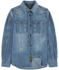 Replay&Sons Hemd aus Chambray