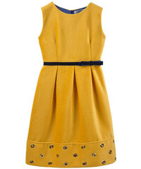 Lesy Ąrmelloses Kleid in Sonnengelb