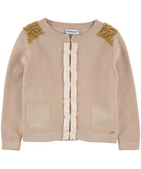 Pinko Up Knitted cardigan with stones