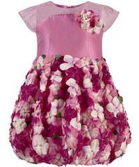 Lesy Shiny balloon dress - Pink