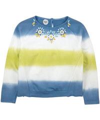 Parrot Italy Light sweatshirt with rhinestones