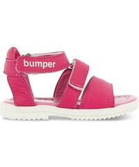 Bumper Sandalen aus Leder