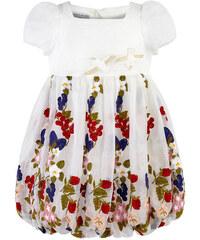 I Pinco Pallino Besticktes Kleid aus Seide